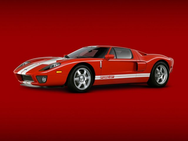 ford gt 2005 1 red - 1024x768