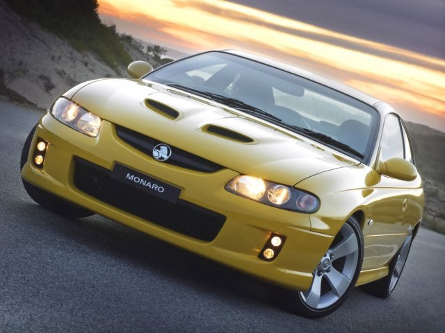 holden vz monaro 2005 yellow - 1024x768