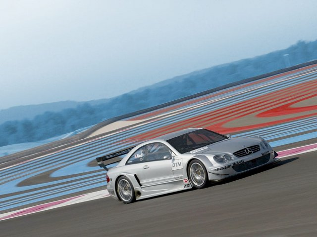 mercedes-benz clk racing - 1024x768